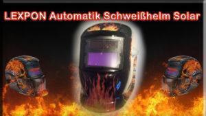 LEXPON Automatik Schweißhelm